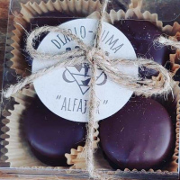 "Chocolate ""ALFAJOR"" BOX 4"