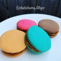 "Colored ""ALFAJOR"" BOX 4"